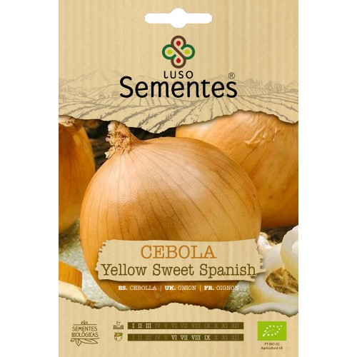 Cebola Yellow Sweet Spanish - Bio