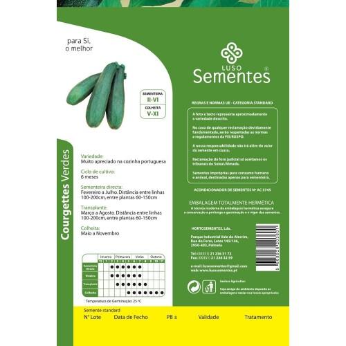Courgettes Verdes